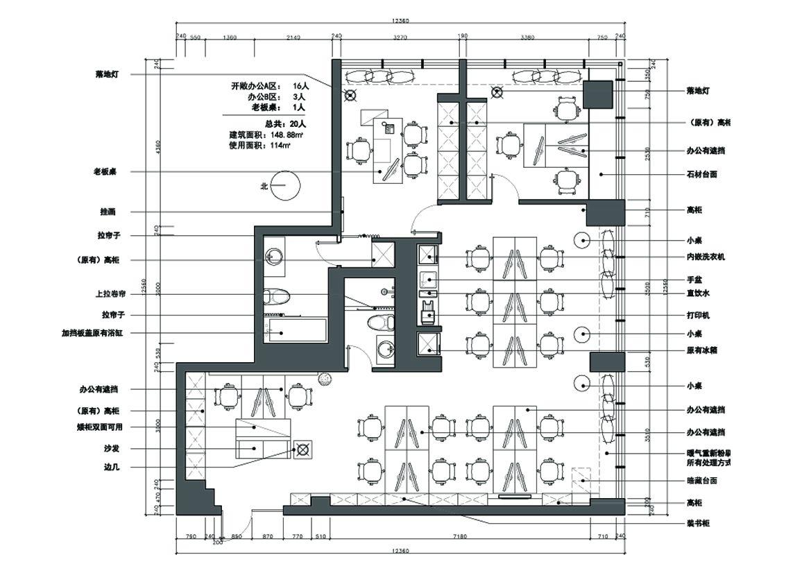 宣教中心平面图